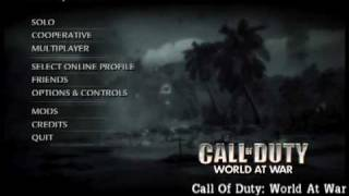 Call Of Duty: World At War [Music][Menu SoundTrack]