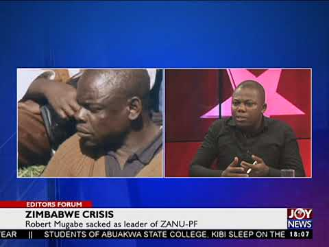 Zimbabwe Crisis - Editors' Forum on JoyNews (19-11-17)[Part 3]