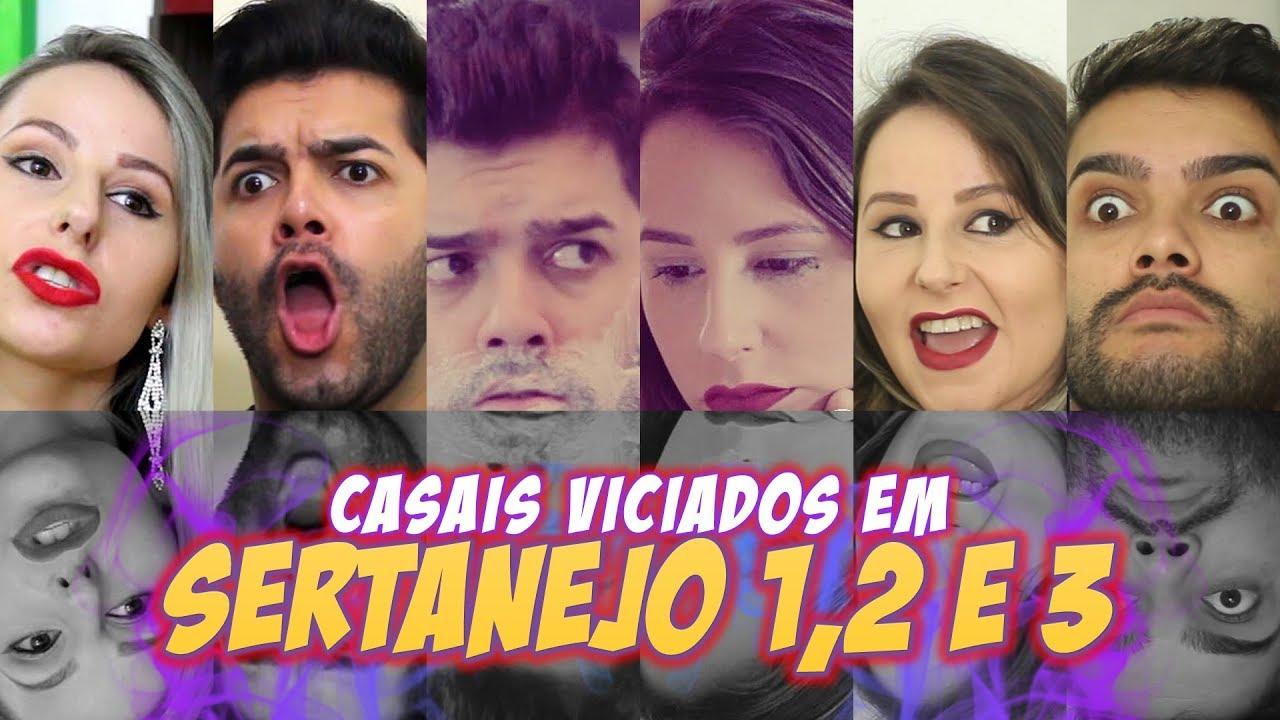 FELIPE PIRES - CASAIS VICIADOS EM SERTANEJO 1, 2 E 3