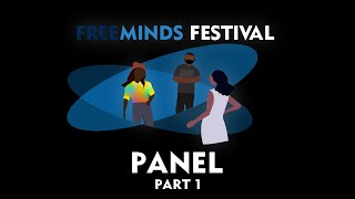 FreeMindsFestival 2020: The Art of Being Brave - Roundtable Discussion - Part 1 [360º VR]