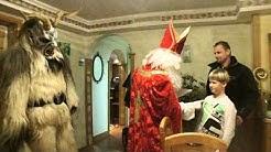Nikolaus und Krampus mit Tobias