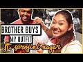 BRO Buys My Outfit! SAROJINI NAGAR ₹500/- Challenge