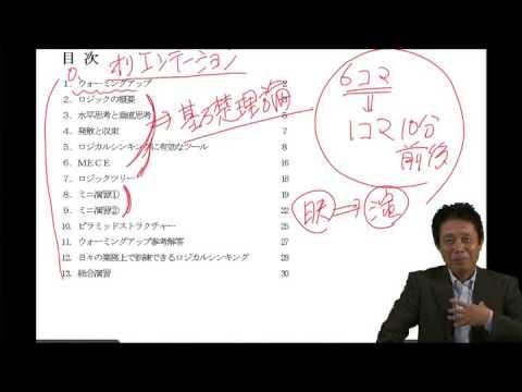 ロジカルシンキングの重要性(基本編)