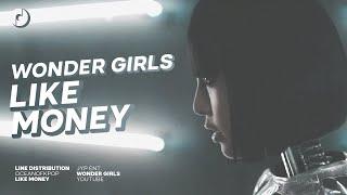 Wonder Girls (원더걸스) (feat Akon) — LIKE MONEY » Line Distribu…