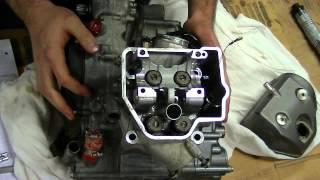 Démontage crf 450 2011 1ère partie : haut moteur