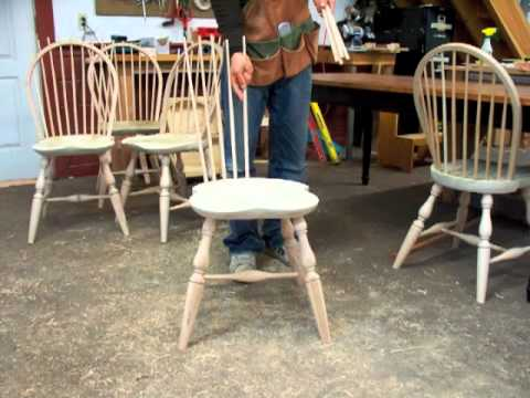 Windsor Chair Building Process by Doucette and Wolfe Furniture Makers Windsor Chair Making