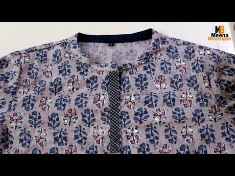 perfect-flat-round-collar-cutting-and-stitching-|-collar-neck-designs-|-kurti-neck
