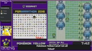Pokémon Speedruns Marathon #2 : Pokémon Yellow