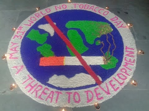 World No Tobacco Day 2017, Tobacco : A Threat To Development, Poster Competition, BPKIHS Dharan