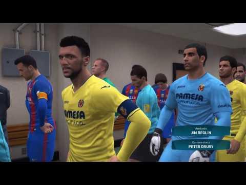 VILLARREAL VS BARCELONA LA LIGA PES 2017 | 9/1/17 PREDICTION 1-1