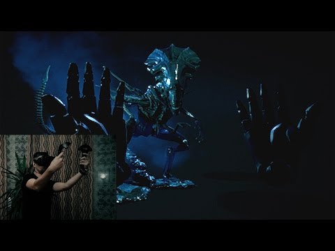 Alien Queen - VR_test_01 (HTC Vive)