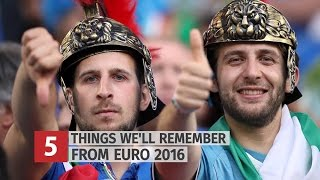 Euro 2016 - Top 5 Moments We'll Remember From The Tournament