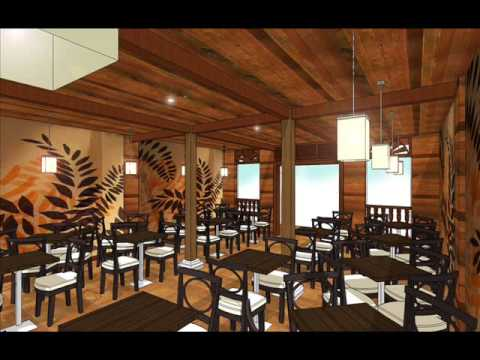 Restaurant Design By Using Google Sketchup