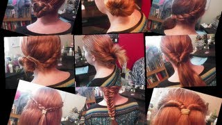 Easy and cute back to school hairstyles! Thumbnail