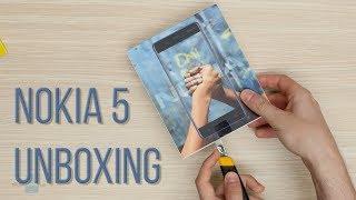 Nokia 5 Unboxing