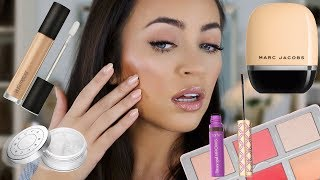 TESTING NEW MAKEUP I'VE BEEN DYING TO TRY! HITS & MISSES | Stephanie Ledda