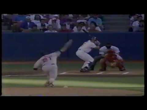 Boston Red Sox at California Angels 04 25 1993