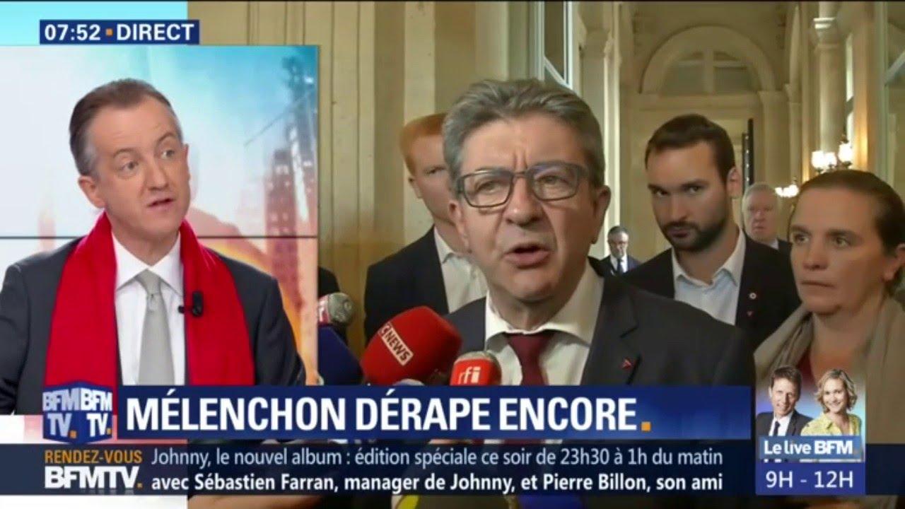 ÉDITO - Mélenchon considère les journalistes comme des valets du système