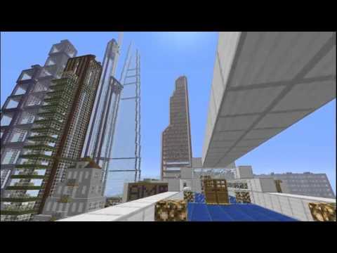 Скачать карту Courier City для Minecraft