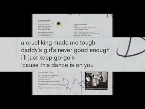 Lady Gaga - Diamond Heart Lyrics [ Booklet ]