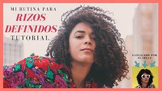 MI RUTINA DE CABELLO - RIZOS DEFINIDOS | LIOSDELIA