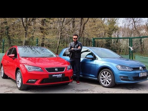 VW Golf vs Seat Leon Karlatrma