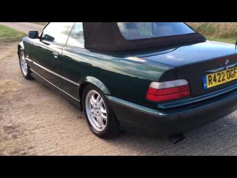 1999 BMW E36 328i AUTO INDIVIDUAL CONVERTIBLE VIDEO REVIEW