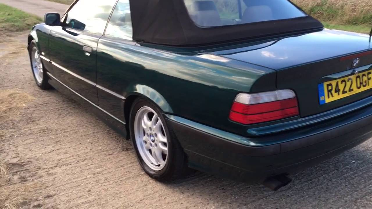 hight resolution of 1999 bmw e36 328i auto individual convertible video review