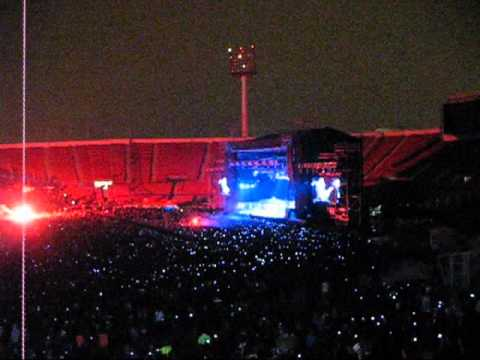 Iron Maiden in Chile (2011) - Intro / Satellite 15... The Final Frontier