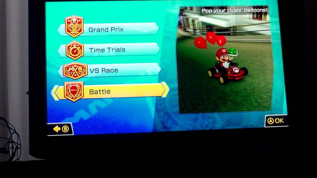 Mario kart 8: hacked ? block symbol - YouTube
