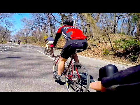 Urban Cycling: New Asphalt in Prospect Park, Brooklyn