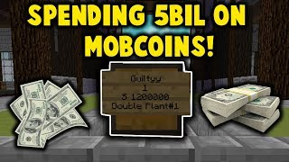 THE BEST PLACE TO SELL YOUR MOBCOINS!! (PvPwars Skyblock Fire)