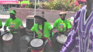 tobago jazz 2014 promotion by blink bmobile tstt hands of rhythm drumming band