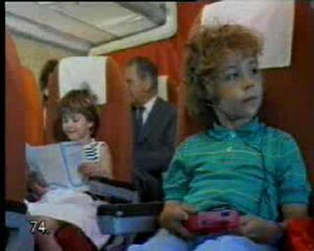 Malev Hungarian Airlines communist era TV ad