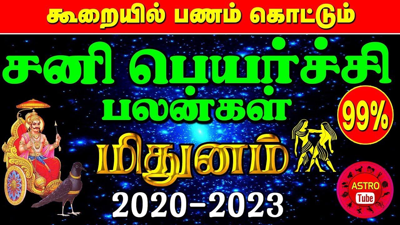 Repeat sani peyarchi 2020-2023 tamil | Sani peyarchi 2020 mithunam