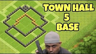 Clash Of Clans | Town Hall 5 Base Speed Build