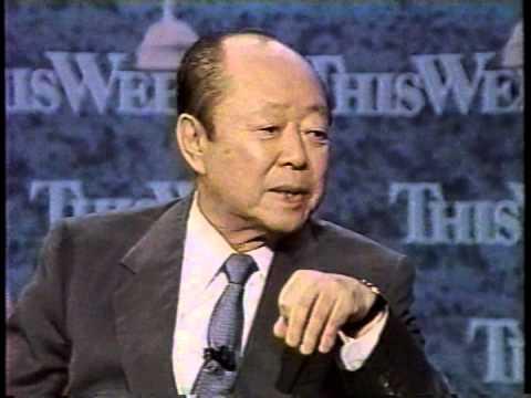 宮沢喜一総理の英語インタビュー Kiichi Miyazawa English Interview