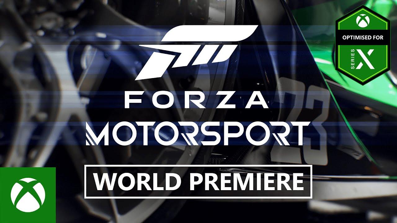 FORZA MOTORSPORT - Official Announcement Trailer