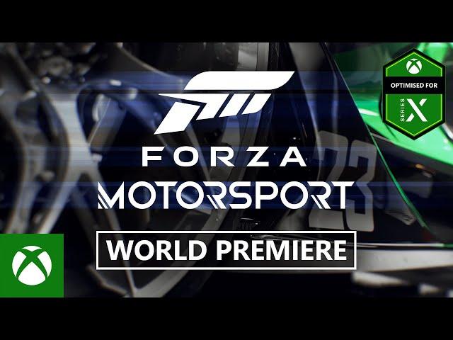 Forza Motorsport (видео)