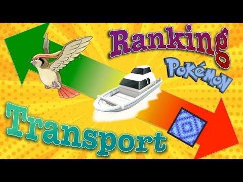 Ranking Every Mode Of Transportation In Pokémon