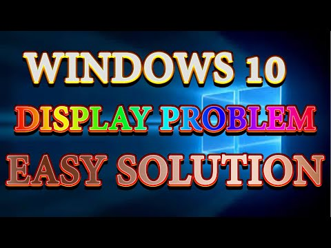 How to fix display  brightness problems on windows 10 ||Screen Brightness issues