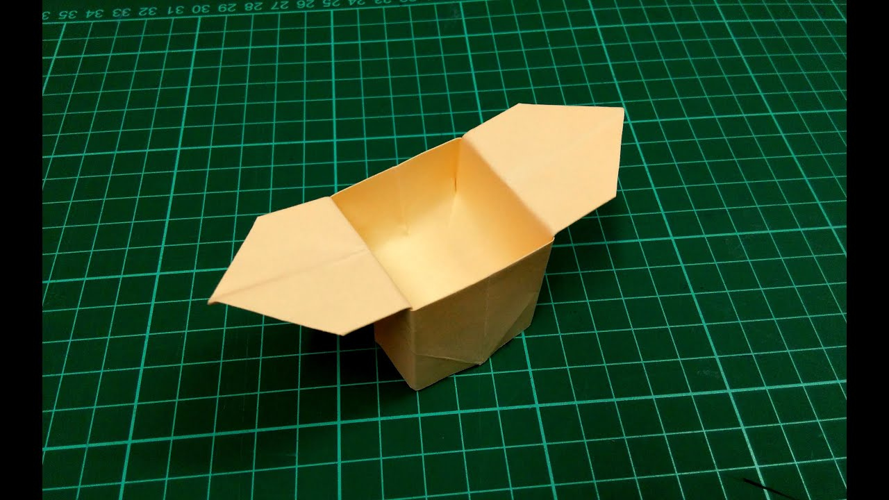 how to make an origami paper box gift box 4 origami