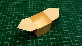 How to make an origami paper box (gift box) - 4 | Origami / Paper Folding Craft, Videos & Tutorials.