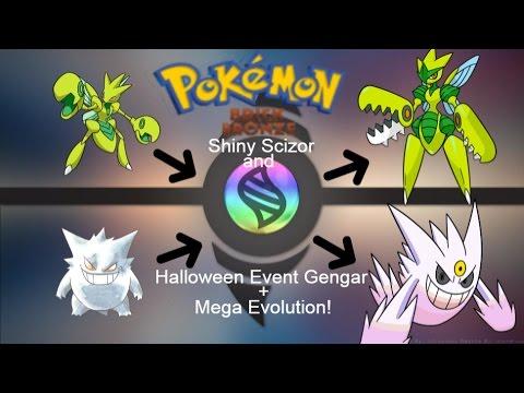 Pokemon Brick Bronze Shiny Scizor And Shiny White Gengar Mega