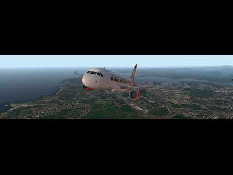 x-plane-11---beautiful-departure-from-leco-(a-coruña)---toliss-airbus-a319---money-heist