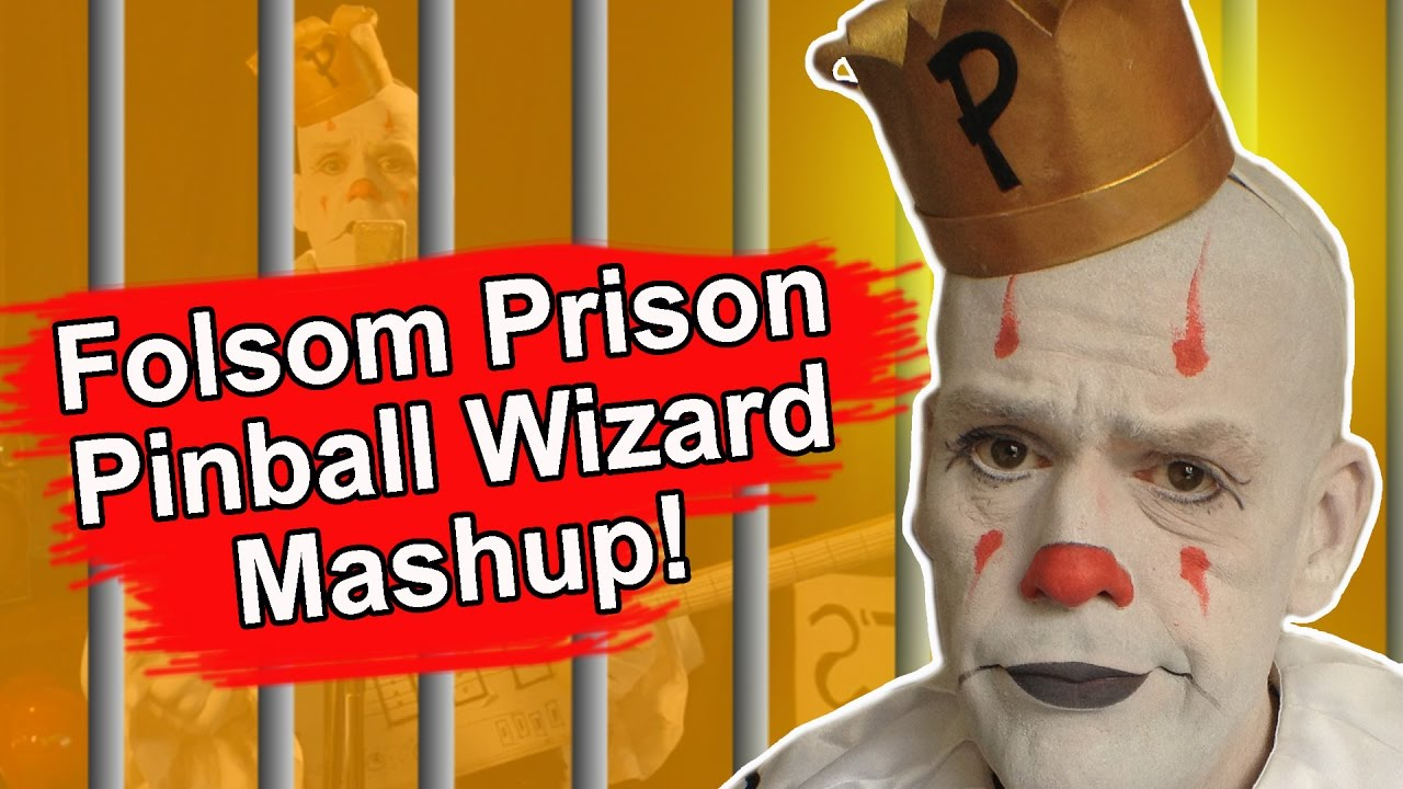 [OFFICIAL VIDEO] Folsom Prison Blues/Pinball Wizard Mash Up (Cash/Who)