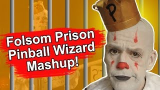 Folsom Prison Blues/Pinball Wizard Shmoosh Up - Johnny Cash - The Who - Puddles Pity Party