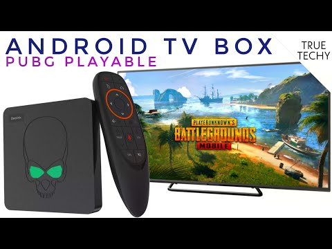 Android TV Box For PubG, Best Android Box 4K, Widevine L1, HD Netflix, Prime Video, Beelink GT KinG