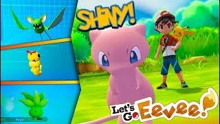 CATCHING SHINY POKÉMON in Pokémon Lets Go! (Let