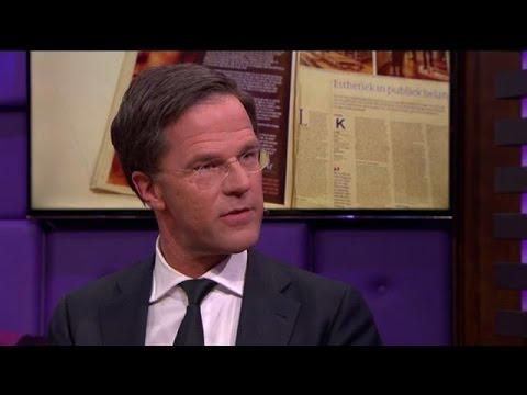 """Rutte: """"Nog nooit zoveel positieve reacties gehad""""  - RTL LATE NIGHT"""